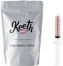 Perfumería y cosmética Kit jeringuilla de gel blanqueador dental con sabor a frambuesa (recarga) - Keeth Raspberry Refill Pack
