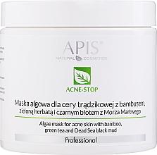 Perfumería y cosmética Mascarilla facial con algas y barro negro de Mar Muerto - APIS Professional Algae Mask For Acne Skin