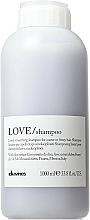 Champú alisante con extracto de oliva para cabello encrespado o rebelde - Davines Shampoo Lisciante Addolcente — imagen N1