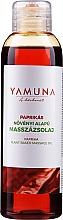 Perfumería y cosmética Aceite de masaje anticelulitis natural con extracto de pimiento - Yamuna Paprika Plant Based Massage Oil