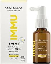Perfumería y cosmética Spray bucal antibacteriano y refrescante - Madara Cosmetics IMMU Refresh & Protect Mouth Spray