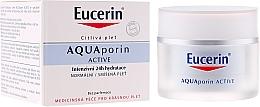 Perfumería y cosmética Crema facial hidratante con glicerina - Eucerin AquaPorin Active Deep Long-lasting Hydration For Normal To Mixed Skin
