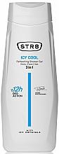 Perfumería y cosmética Gel de ducha para rostro, cuerpo y cabello refrescante - STR8 Icy Cool Refreshing Shower Gel 3 in 1
