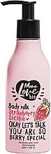 Perfumería y cosmética Leche corporal con extracto de fresa - MonoLove Bio Strawberry Sicilia Body Milk