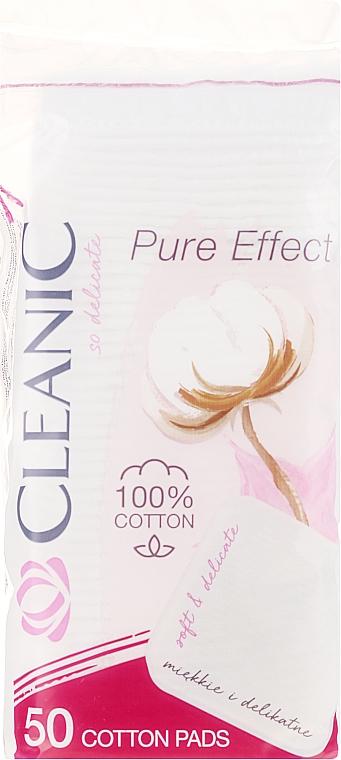 Discos de algodón desmaquillantes 50 uds. - Cleanic Face Care Cotton Pads