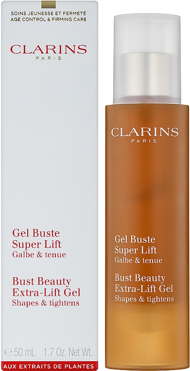 Gel reafirmante para cuello y busto con extracto de granada - Clarins Bust Beauty Gel 50ml — imagen N2