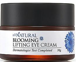 Perfumería y cosmética Crema reafirmante para contorno de ojos con extracto de flor de aciano - All Natural Blooming Lifting Eye Cream