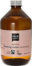 Perfumería y cosmética Loción de lavado para higiene íntima con aceite de semilla de albaricoque y té verde - Fair Squared Apricot Washing Lotion Intimate