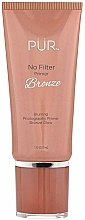 Perfumería y cosmética Prebase de maquillaje iluminadora e hidratante - Pur No Filter Blurring Photography Primer Bronze Glow