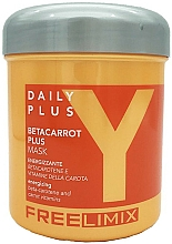 Perfumería y cosmética Mascarilla capilar energizante con β-caroteno - Freelimix Daily Plus Betacarot Plus Mask