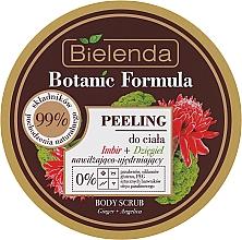 Perfumería y cosmética Exfoliante corporal natural con extracto de jengibre & angélica - Bielenda Botanic Formula Ginger + Angelica Body Scrub