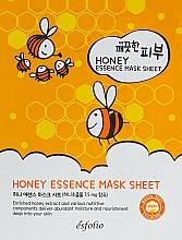 Perfumería y cosmética Mascarilla facial de tejido con extracto de miel - Esfolio Pure Skin Essence Mask Sheet Honey