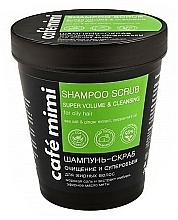 Perfumería y cosmética Champú exfoliante natural eco con sal marina, extracto de ginseng y aceite de menta - Cafe Mimi Scrub Shampoo