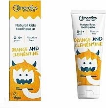 Perfumería y cosmética Pasta dental con sabor a naranja y clementina - Nordics Kids Orange Clementine Toothpaste