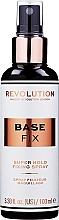 Perfumería y cosmética Spray fijador de maquillaje - Makeup Revolution Base Fix Super Hold Fixing Spray