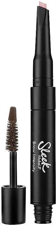 Gel para cejas con cepillo - Sleek MakeUP Brow Intensity
