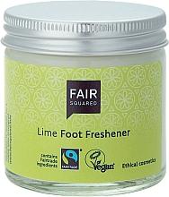Perfumería y cosmética Crema de pies de aceites cítricos con lima - Fair Squared Lime Foot Freshener