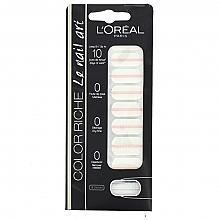 Perfumería y cosmética Pegatinas decorativas para uñas - L'Oreal Paris Stickers Color Riche Le Nail Art