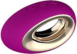 Perfumería y cosmética Masajeador de silicona con forma de huevo, resistente al agua, violeta - Lelo Alia Deep Rose Luxury Waterproof Rechargeable Personal Massager