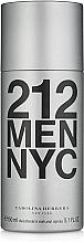 Perfumería y cosmética Carolina Herrera 212 MEN NYC - Desodorante