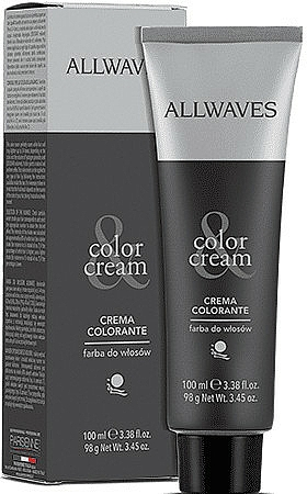Tinte permanente en crema para cabello - Allwaves Cream Color
