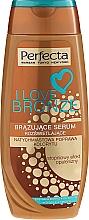 Perfumería y cosmética Sérum bronceador con partículas de oro - Perfecta I Love Bronze Serum