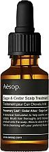 Perfumería y cosmética Tratamiento para cuero cabelludo con salvia y cedro - Aesop Sage & Cedar Scalp Treatment