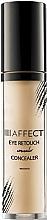 Perfumería y cosmética Corrector contorno de ojos - Affect Cosmetics Eye Retouch Concealer