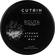 Perfumería y cosmética Cera texturizante de cabello, fijación fuerte - Cutrin Routa Strong Styling Wax