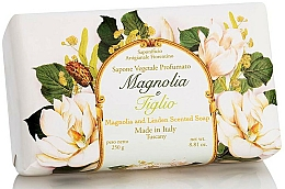Perfumería y cosmética Jabón artesanal vegetal con aroma a magnolia y tilo - Saponificio Artigianale Fiorentino Magnolia&Linden Soap