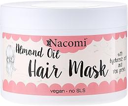 Perfumería y cosmética Mascarilla capilar con aceite de almendras - Nacomi Almond Oil Hair Mask