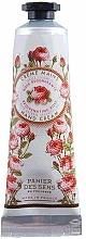 Perfumería y cosmética Panier Des Sens Rose - Crema de manos regeneradora con aceite esencial de rosa