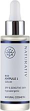 Perfumería y cosmética Sérum facial natural con agua de rosas - Naturativ ecoAmpoule 1 Serum