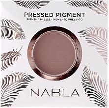 Perfumería y cosmética Recarga de sombra de ojos mate - Nabla Pressed Pigment Feather Edition Matte Refill Eyeshadow