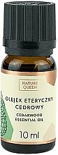 Perfumería y cosmética Aceite esencial de cedro 100% puro - Nature Queen Essential Oil Cedarwood