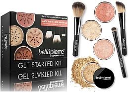 Perfumería y cosmética Kit facial de introducción con maquillaje mineral - Bellapierre Get Started Kit Medium