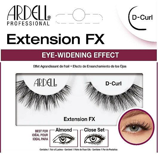 Pestañas postizas - Ardell Eyelash Extension FX D-Curl