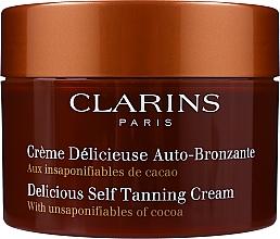 Perfumería y cosmética Crema autobronceadora para rostro y cuerpo con aroma a cacao - Clarins Delicious Self Tanning Cream