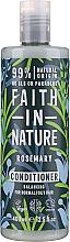 Perfumería y cosmética Acondicionador de cabello natural con aceite y extracto de romero - Faith in Nature Rosemary Conditioner