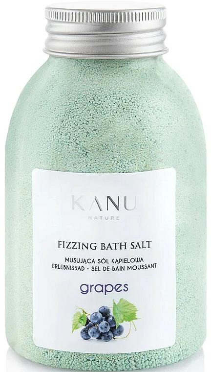 Sal de baño con aroma a uva - Kanu Nature Grapes Fizzing Bath Salt