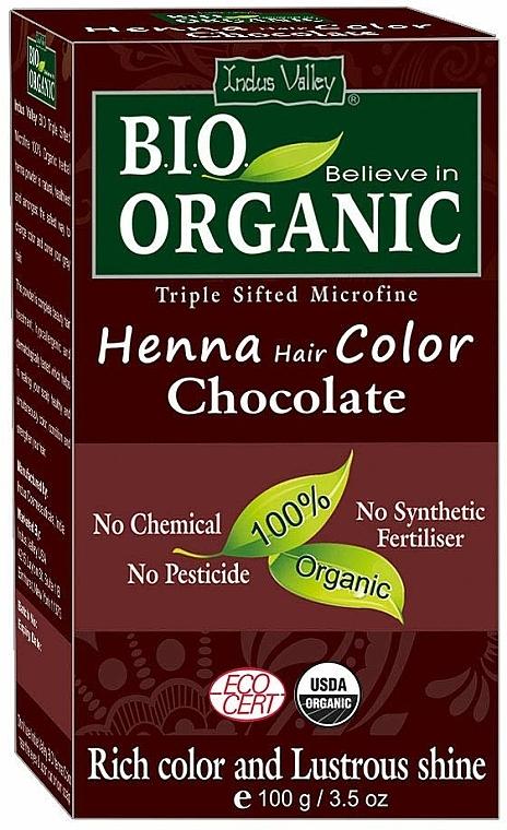 Tinte natural para cabello con henna, índigo y cassia - Indus Valley Henna Hair Color