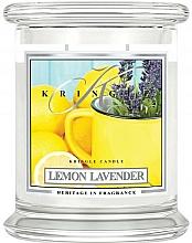 Perfumería y cosmética Vela en tarro con aroma a lavanda & limón - Kringle Candle Lemon Lavender