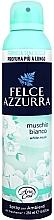 Perfumería y cosmética Ambientador en spray con aroma a flor de algodón y vainilla - Felce Azzurra Muschio Bianco Spray