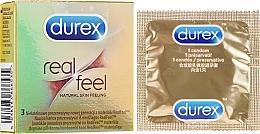 Perfumería y cosmética Preservativos, 3uds. - Durex Real Feel