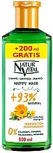 Perfumería y cosmética Champú hidratante hipoalergénico con extracto biológico de caléndula - Natur Vital Happy Hair Moisturising Shampoo