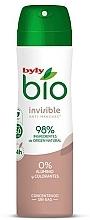 Perfumería y cosmética Desodorante con ingredientes naturales - Byly Bio Natural 0% Invisible Desdorant Spray