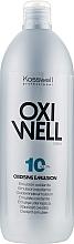 Perfumería y cosmética Emulsión oxidante 3% - Kosswell Professional Oxidizing Emulsion Oxiwell 3% 10vol