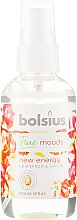 Perfumería y cosmética Ambientador en spray pomelo y jengibre - Bolsius Room Spray True Moods New Energy