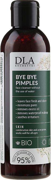 Loción limpiadora facial, sin aclarado - DLA