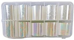 Perfumería y cosmética Set láminas para decoración de uñas, 10 uds. - Deni Carte